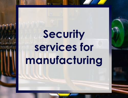 Security Services for Manufacturing