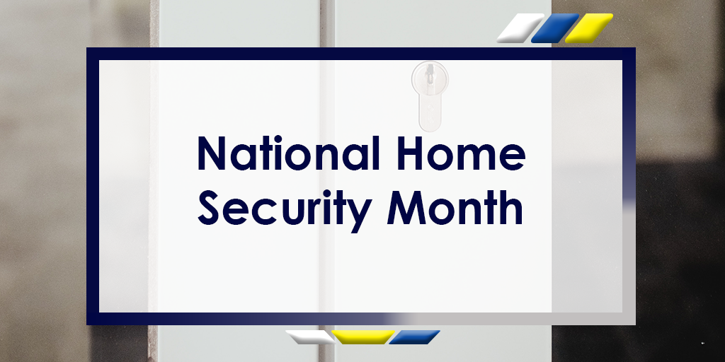 National Home Security Month Header