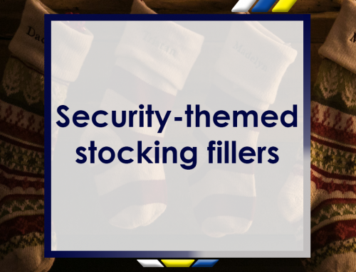 Security-Themed Stocking Fillers