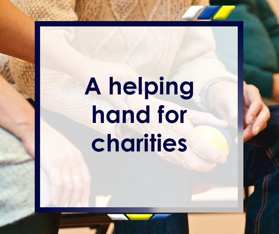 A Helping Hand for Charities Featured Image