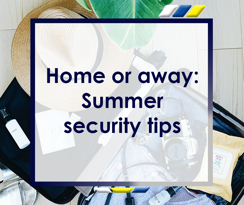 Summer Security Tips Featured Image