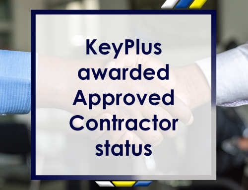 KeyPlus Awarded Approved Contractor Status